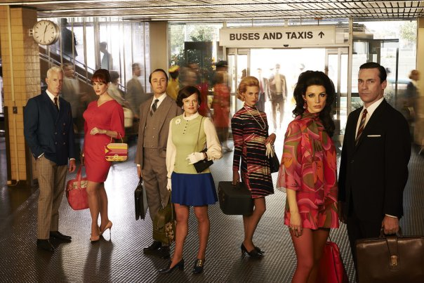 If you haven't watched Mad Men, these beautiful people should be reason enough to start.