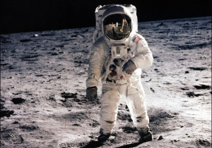 Photo Credit: NASA/AFP/Getty Images Man Walks on the Moon