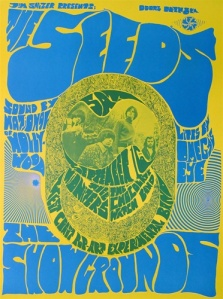 The Seeds Concert Poster