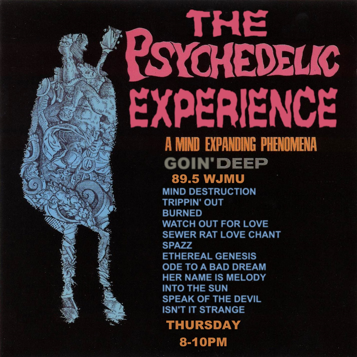 The Psychedelic Experience – April 21, 2016 – Goin' Deep
